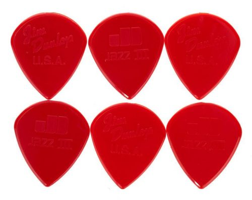 Drsalica Jazz III Nylon Sharp Red 6PC Dunlop