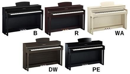 Električni klavir Yamaha CLP-635 - različne barve