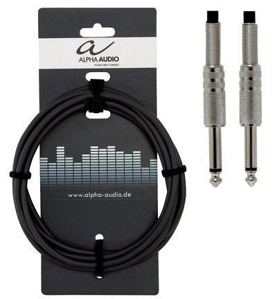 Instrumentalni kabel z mono vtičem Alpha Audio Basic Line Gewa - različne velikosti