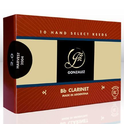 Jezički za Bb klarinet 4 Regular Cut Gonzalez