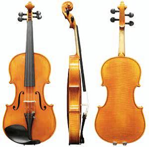 Koncertna violina Heinrich Drechsler 4/4 Germania Gewa - solistična