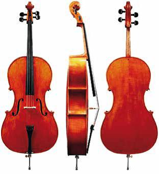 Koncertni violončelo Heinz F. Krause Germania Gewa - različni modeli