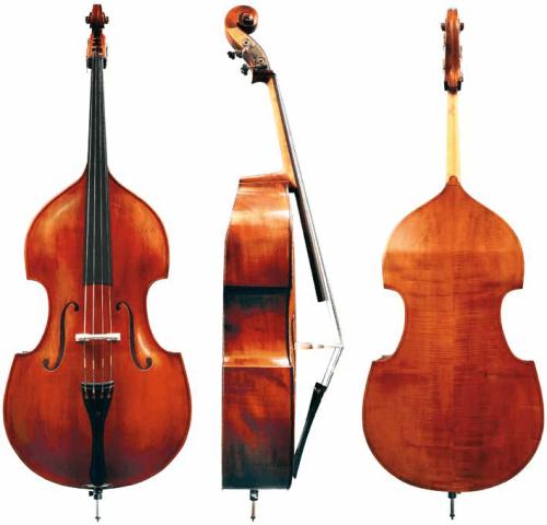 Kontrabas ¾ Meister Michael Glass Model No. 5 Gewa