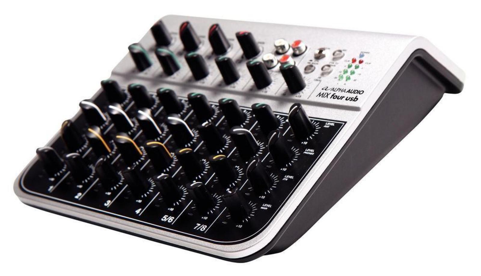 Mešalna miza Alpha Audio Mix Four USB Gewa
