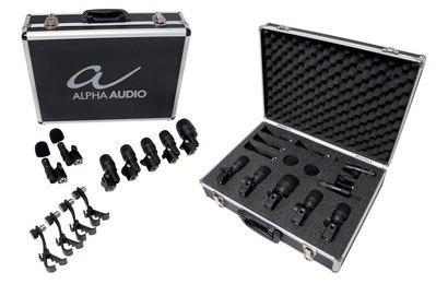 Mikrofoni za bobne Alpha Audio Mic Drumbox 7 Gewa