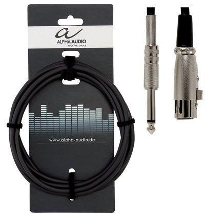 Mikrofonski kabel Gewa Basic Line Alpha Audio (XLR(f)) - različne dolžine