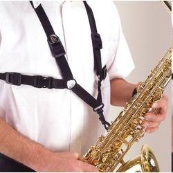 Pas za saksofon BG S42SH - črn
