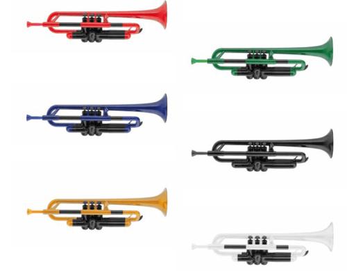 Plastična Bb trobenta Gewa - različne barve