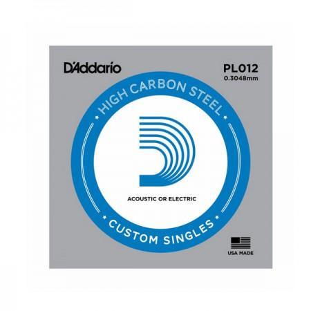 Posamezna struna za akustično in električno kitaro PL012 D'Addario