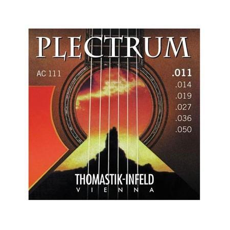 Set strun za akustično kitaro Thomastik Plectrum AC111