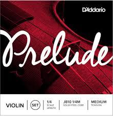 Set strun za violino 1/4M Prelude J810 Daddario