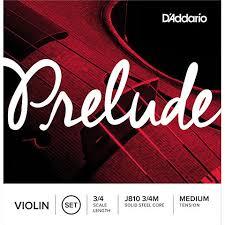 Set strun za violino 3/4M Prelude J810 Daddario