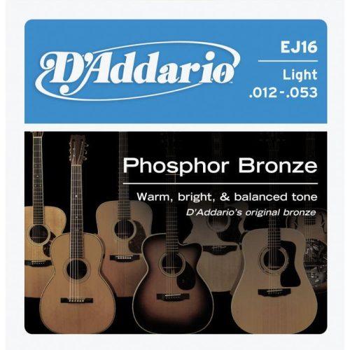 Strune za akustično kitaro D`Addario EJ16
