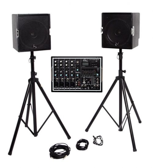 Zvočnik Alpha Audio Complete P.A. System A-Amp Compact 700 Coax Gewa
