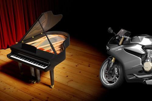 Klavir VS motor