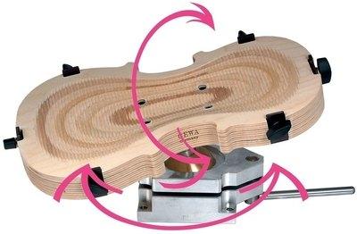 Lesena delovna podlaga za godala Gewa