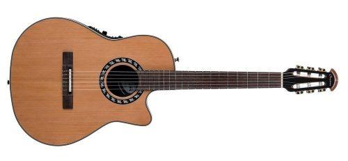 Elektro-akustična klasična kitara Ovation Nylon Mid Cutaway Gewa