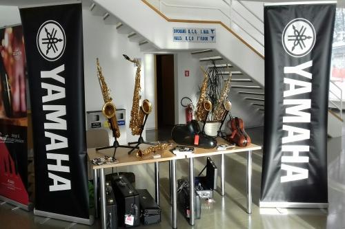 Promocija pihal znamke Yamaha