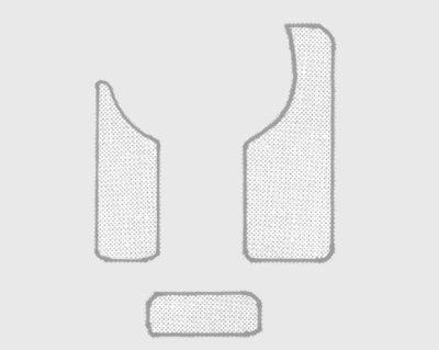 Zaščitna plošča (pickguard) za brenkala Fire & Stone Faceguard Gewa