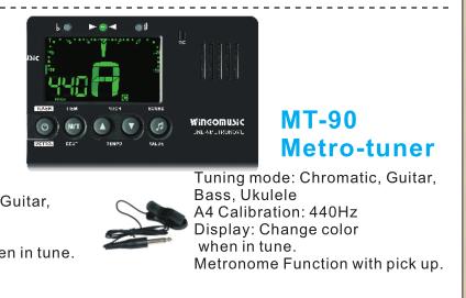 Metronomski uglaševalec MT-90 Wingo