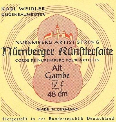 Strune za diskantno violo da gambo Kuenstler Nürnberger