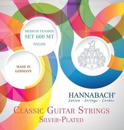 Set strun za klasično kitaro Serija 600 Hannabach