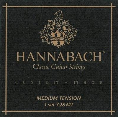 Strune za klasično kitaro Serija 728 Custom Made Hannabach