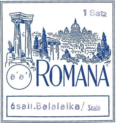 Set strun za balalajko Prim Romana