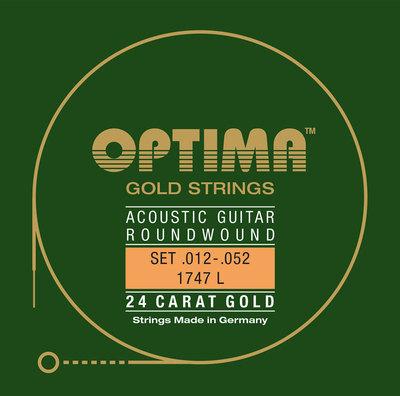 Strune za akustično kitaro Gold strings Optima