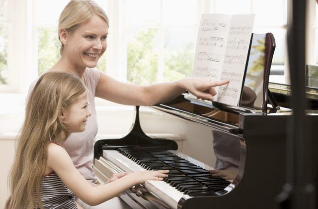 Klavir - vaja