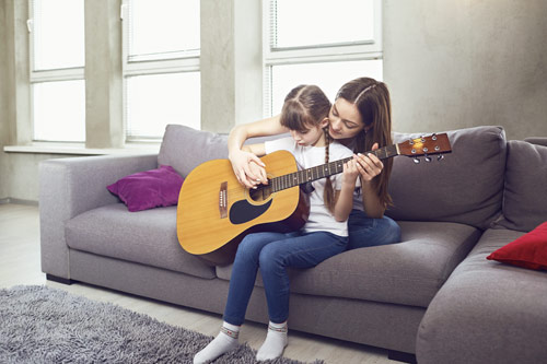 Motiviranje otroka za vadenje glasbila
