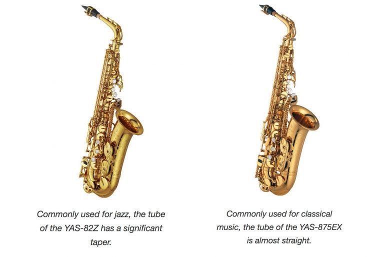 Saksofon v džezovski vs. klasični glasbi