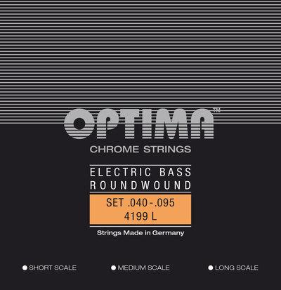 Set strun za električno basovsko kitaro Optima