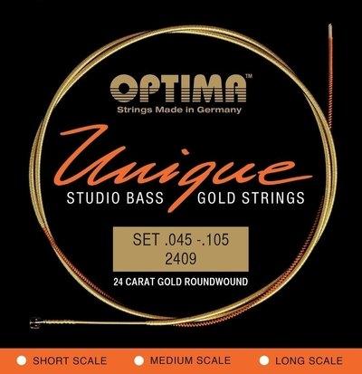 Set strun za električno basovsko kitaro Unique studio Optima