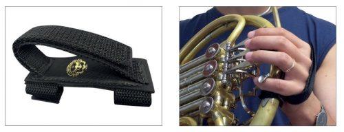 Zanka za roko za francoski rog Leather Specialities