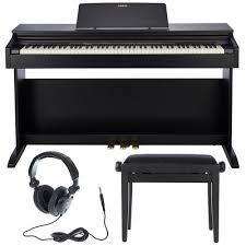 Klavirski set: električni klavir AP270BK Casio s slušalkami in stolom