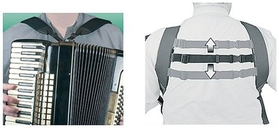 Naramnice za harmoniko Deluxe Accordion Harness Neotech
