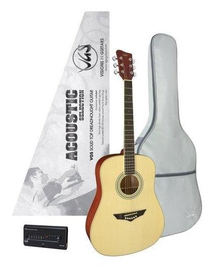 Akustična kitara za začetnika (set)