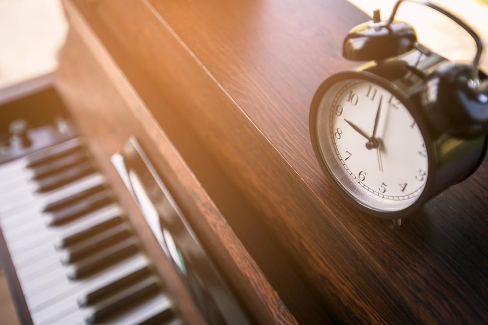 Čas za vajo instrumenta