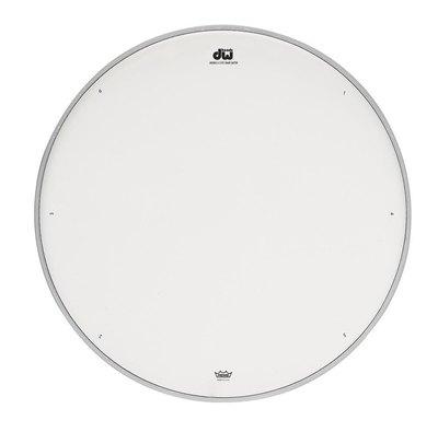 Opna za mali boben Double A White coated Drum Workshop