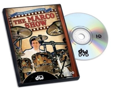 DVD Marco Minnemann The Marco Show Drum Workshop
