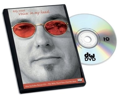DVD Billy Ward Voices in my head Drum Workshop