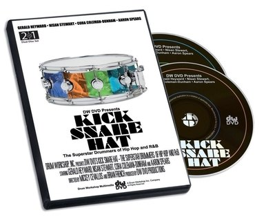 DVD Kick Snare Hat Drum Workshop