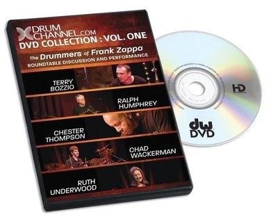 DVD Zappa Drummers Drum Workshop