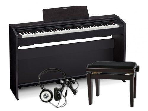 Klavirski set: električni klavir Privia PX-870 Casio s slušalkami in stolom