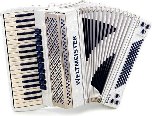 Harmonika Monte Classic 37 37/96/iv/11/ Colour Line Weltmeister