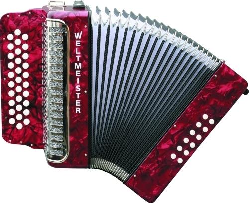 Harmonika Wiener 509 31/12/II Weltmeister