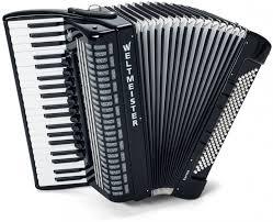 Harmonika Saphir 41/120/IV/11/5 Weltmeister