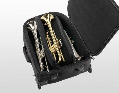 Torba za tri trobente ali dve trobenti in eno krilnico Professional Soundwear
