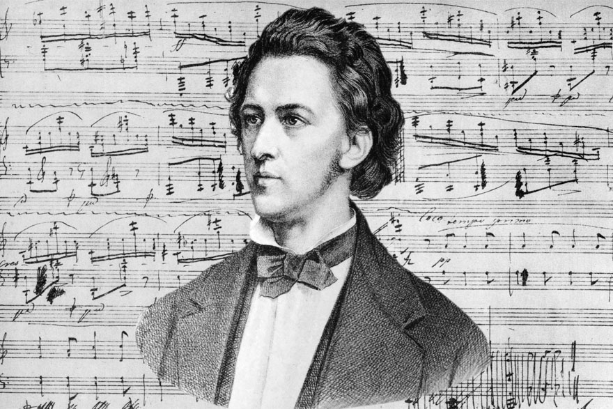 Frédéric Chopin - portret